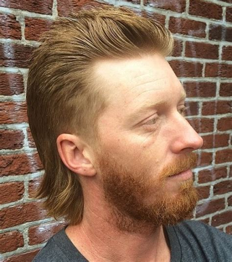 Hairstyle Tapered Mullet by Mullet Haircuts In The Back Business In The Front