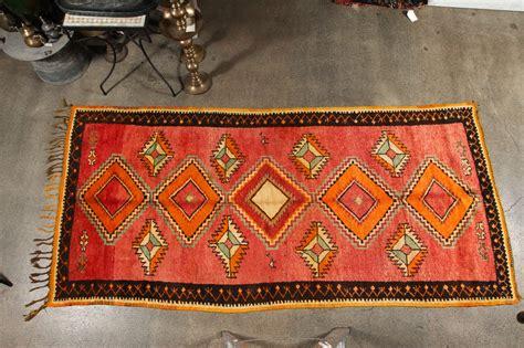 Tribal Runner Rug Vintage Moroccan Tribal Rug Runner Matisse Style At 1stdibs