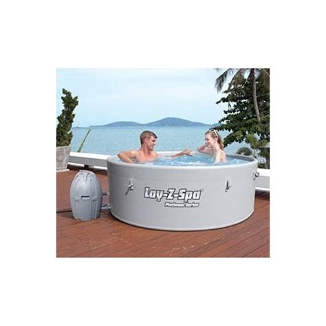 piscine semi rigide 6087 lay z spa rond monaco semi rigide 4 6 places diam 232 tre 2