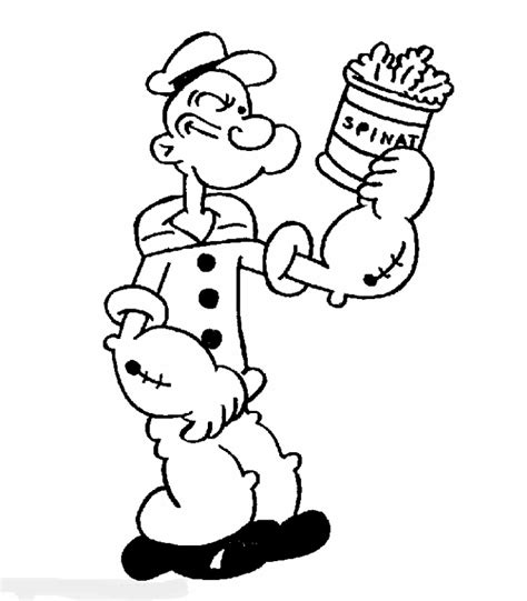 Popeye Coloring Pages popeye coloring pages coloring pages