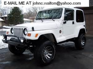 Jeep Wrangler Classifieds 1997 White Jeep Wrangler 4x4 For Sale From New York New