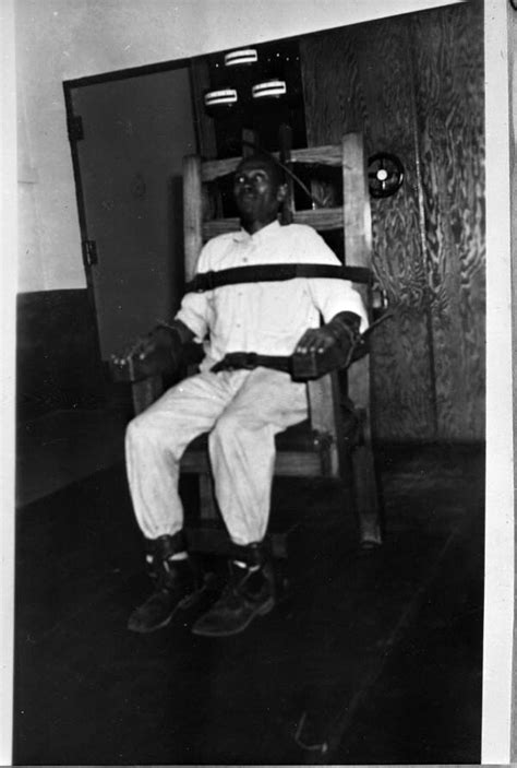 Florida Electric Chair by Florida Memory Electric Chair With Inmate Strapped In