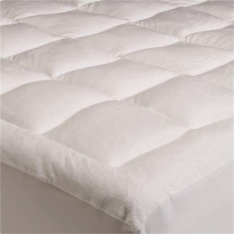 bed pillow topper pinzon basics overfilled ultra soft microplush queen