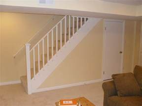Stair Exciting Basement Stair Ideas For Beautifying The Ideas For Basement Stairs
