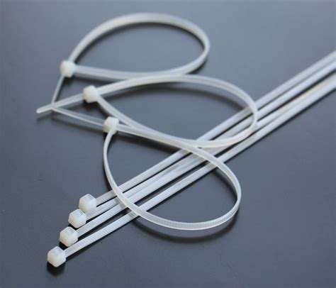 Cable Tie 200mm 1 100pcs 8 quot inch 200mm 3mm white cable wire zip ties