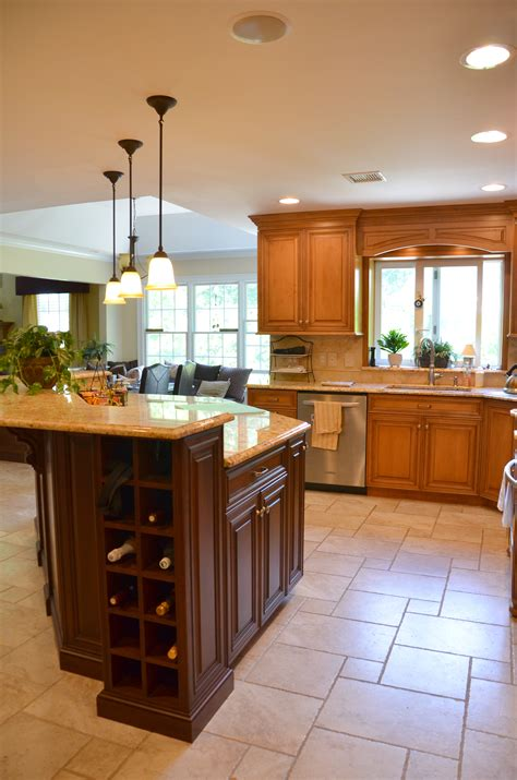 Custom Built Kitchen Islands | two tone kitchen manasquan new jersey by design line kitchens