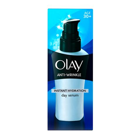 Serum Anti Aging olay anti wrinkle instant hydration day serum 50ml