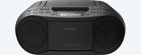 da cassetta a cd cassette and cd player with radio cfd s70 sony us