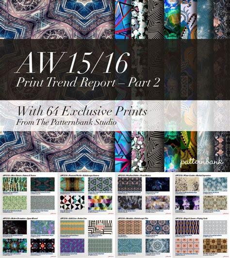patternbank facebook trends patternbank print trend report part 2 aw 15