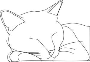 Drawing Outline by Cat Outline Logan By Sgalteran On Deviantart