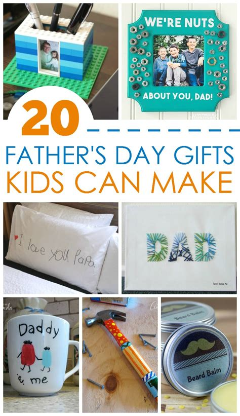 gifts for fathers day 20 s day gifts can make