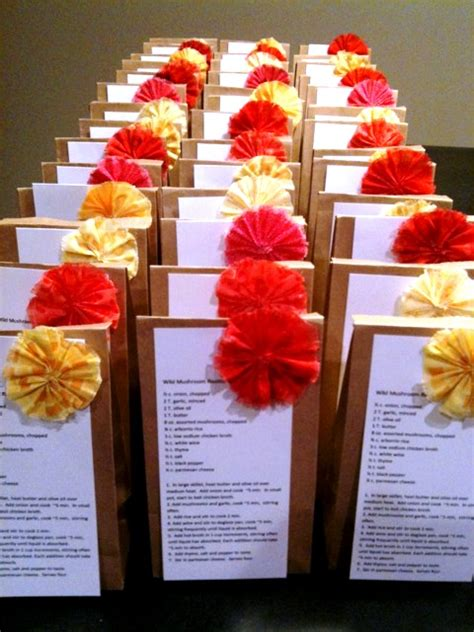 wedding shower favors diy diy bridal shower recipe favors weddingbee photo gallery