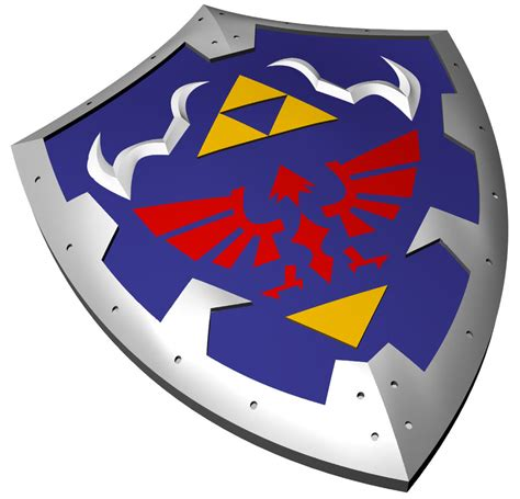 Hylian Shield Outline by Hyrule Shield Www Imgkid The Image Kid Has It