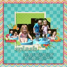 rubber sts melbourne scrapbook layouts on monthly challenge