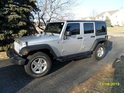 Remote Jeep Wrangler Unlimited Find Used 2012 Jeep Wrangler Unlimited 4dr 4989