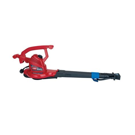 toro ultraplus 250 mph 350 cfm 12 electric leaf blower