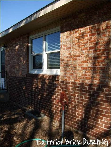 Stained Brick House by 1000 Images About Home Curb Appeal On