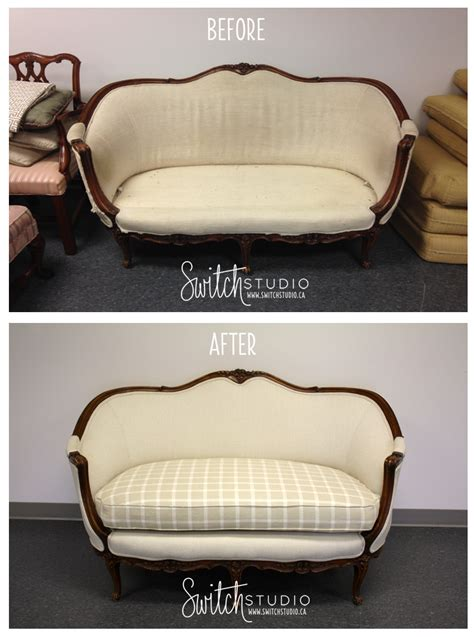 reupholster couch before and after top 10 upholstery before afters switch studio