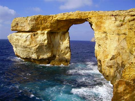 azure window azure window gozo photos diagrams topos summitpost
