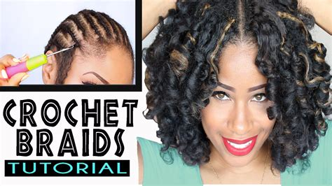 crochet braids hairstyles youtube how to crochet braids w marley hair original no rod