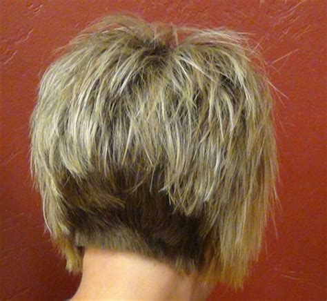 back view short messy layer haircuts back view of short haircuts short hairstyles 2017 2018