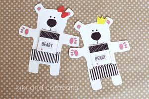 have a beary little christmas gift card holder free