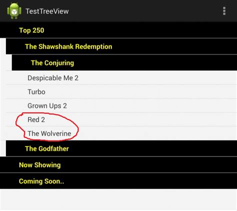 android expandablelistview expandablelistview like treeview android stack overflow