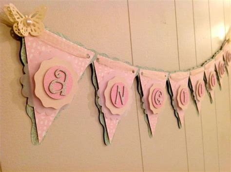 Custom Made Baby Shower Banners by Baby Shower Banner Butterfly Baby Shower Birthday
