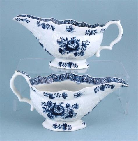 bow of a boat in spanish pair of bow sauce boats 1765 to 1770 engalnd from andrew