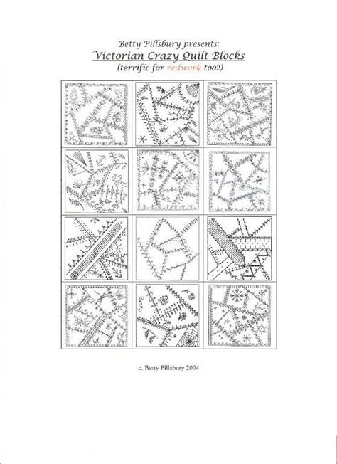 victorian crazy by bpills279016 quilting pattern