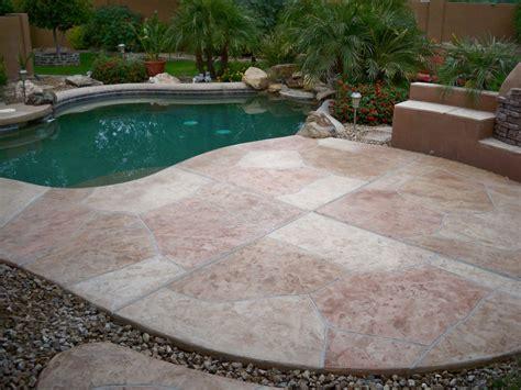 pool deck flagstone pool deck coatings and repair az creative surfaces 480 582 9191