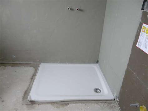 duschtasse einbauen flache duschwanne einbauen ww06 hitoiro