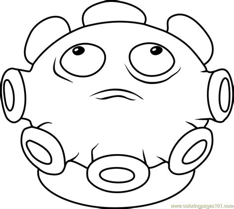 gold magnet coloring page free plants vs zombies gloom shroom coloring page free plants vs zombies