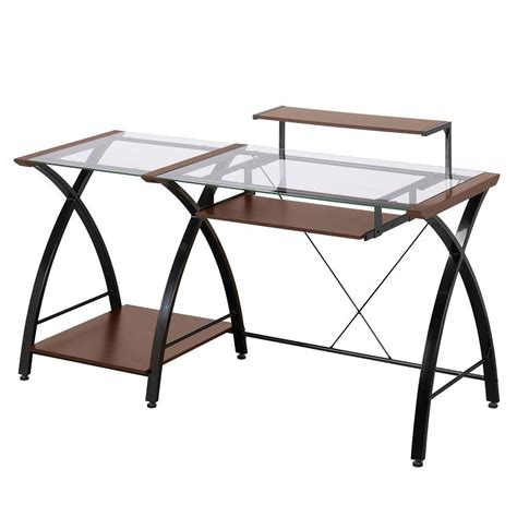 z line designs cherry desk zl4053 3dbu the home depot