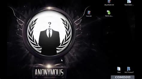 theme windows 8 1 anonymous anonymous theme rainmeter youtube