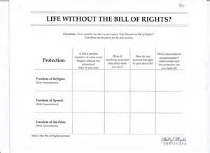 bill of rights scenario worksheet davezan