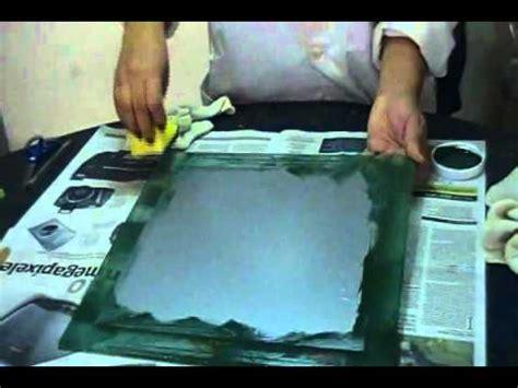 imagenes uñas efecto espejo aplicacion de color en vidrio grabado satinado