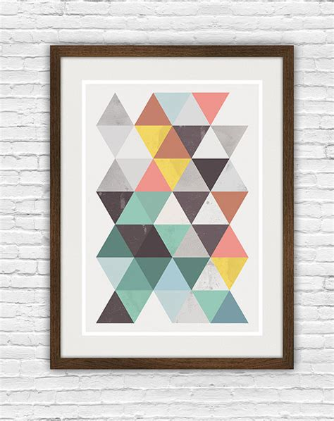 abstract poster scandinavian print mid abstract poster geomertric scandinavian print