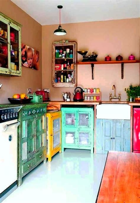 eclectic kitchen cabinets 4 tips and 30 ideas to spruce up your kitchen digsdigs