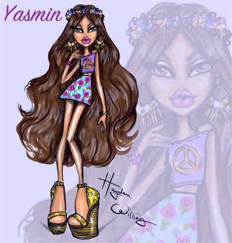 painting bratz hayden williams fashion illustrations bratz yasmin aka