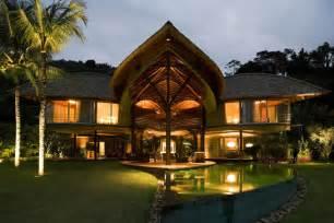 tropical house design unusual tropical house design leaf house in brazil
