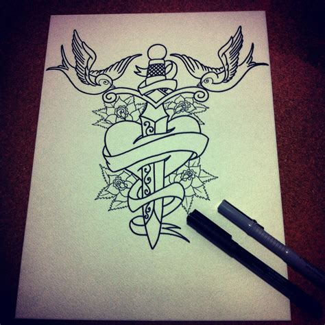 Tattoo Old School Sword | old school tattoos swords and swallow on pinterest