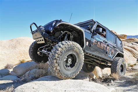 jeep suspension jk wrangler fabtech jeep