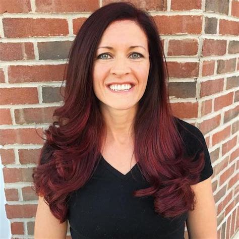 Hair Colour Ideas Black And Red