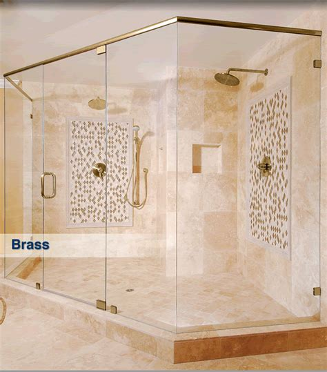 Crlaurence Shower Doors by Frameless Shower Finishes And Colors