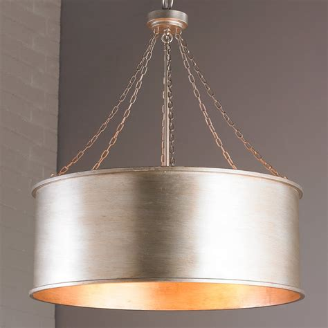 lighting hanging drum shades making it lovely luxe patina drum shade large shades of light
