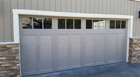 Clopay Coachman Design 12 With Rec13 Windows Garage Door Clopay Garage Door Windows