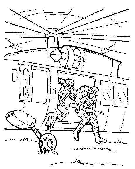 coloring page army coloring pages 46