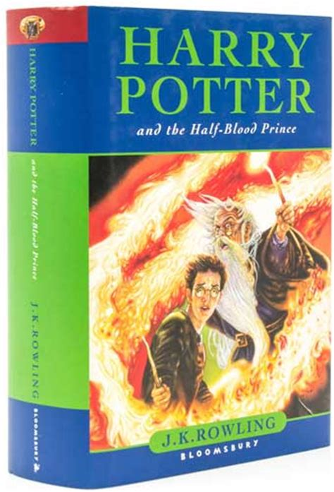 in the blood books collecting harry potter books