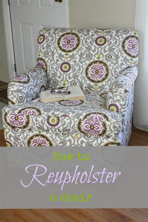 reupholster armchair tutorial a side of sunshine how to reupholster a chair great